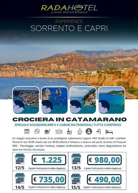 Crociera in Catamarano - Sorrento e Capri