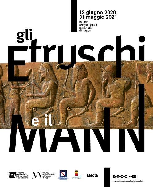 Pausa Pranzo al Museo, gli Etruschi e il Mann