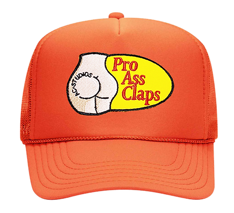 PRO A$$ CLAPS TRUCKER (ORANGE)