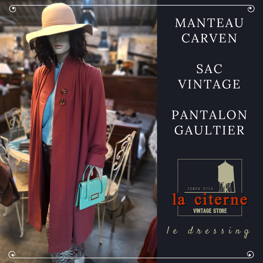 Citerne Citerne Citerne Dressing Store Manteau Carven La Vintage De Le Le  Le nvxp1YOq 64f7db7596e