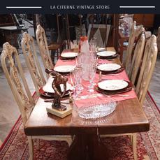 Table de monastere La Citerne Vintage Store Brocante, la brocante autrement,La Citerne Vintage Store Brocante, la brocante autrement