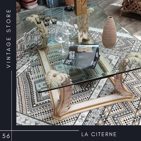 Table basse Chelini La Citerne Vintage store Vannes