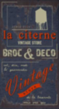 La Citerne [ Brocante & Vintage Store Vannes et Saint Paul Trois Chateaux