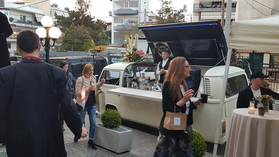 VW T2 Cocktail Van & Bar