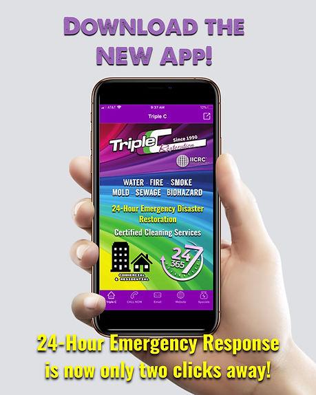 Triple C Restoration mobile app