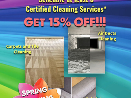 Triple C Restoration announces Spring Cleaning promotion for May