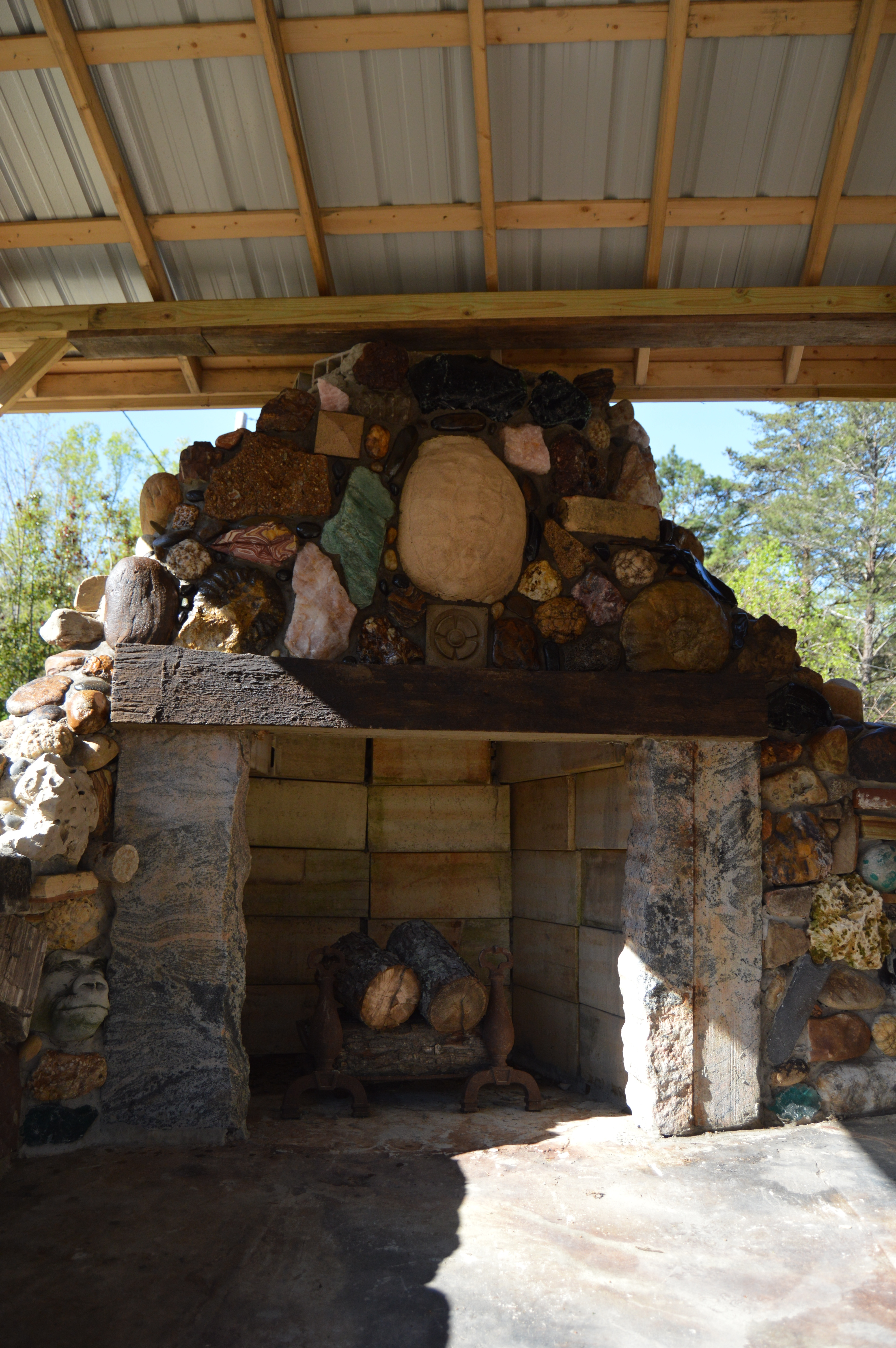 Turtle Hill Fire Place
