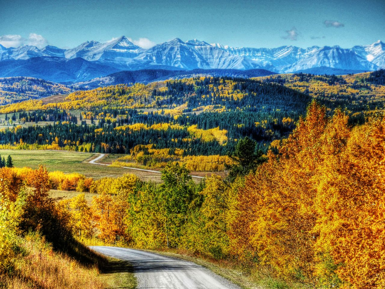 Fall in the West
