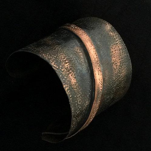 Copper Fold One Line Cuff
