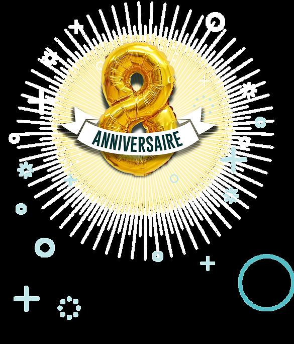 8ème anniversaire