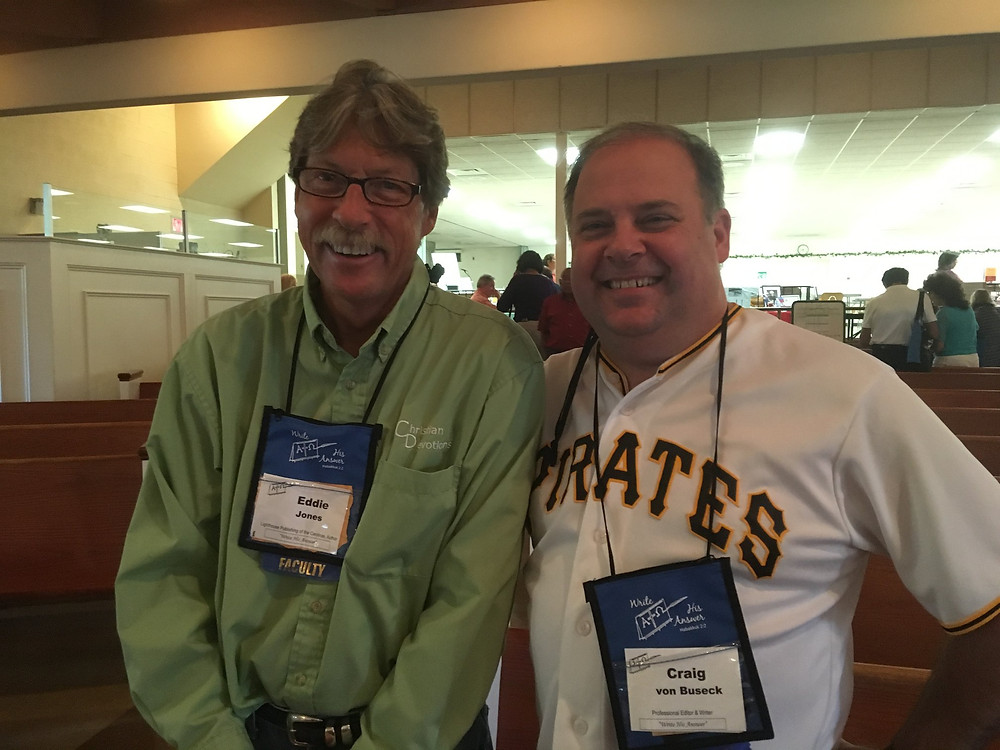 Craig with Eddie Jones, Founder and Publisher at Lighthouse Publishing of the Carolinas