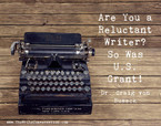 Are You a Reluctant Writer?