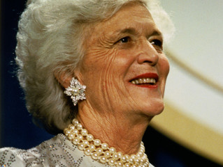 Thank You For Your Service to America, Barbara Bush.