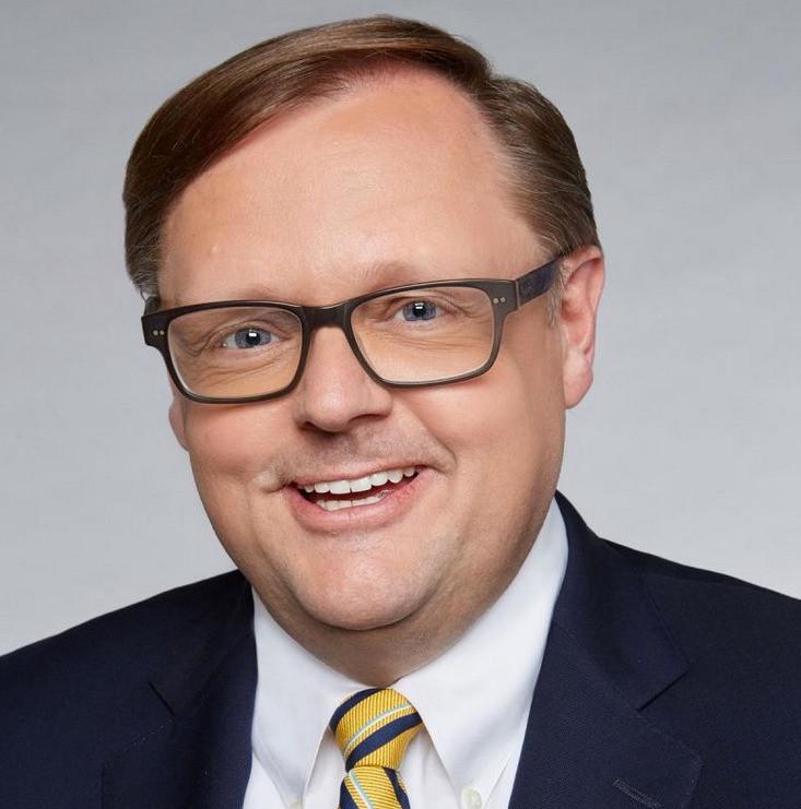 John Starnes of Fox News at the Carolina Christian Writers Conference