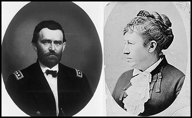 Read a Moving Encounter Between Ulysses and Julia Grant - & my Interview with Christian Authors Net