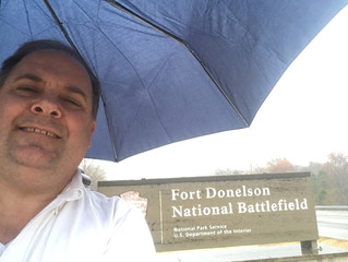 My Victor! Research Trip to Fort Donelson in Tennessee