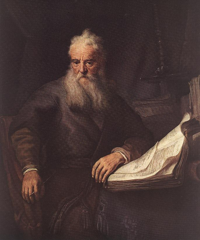 Apostle Paul by Rembrandt, 1633