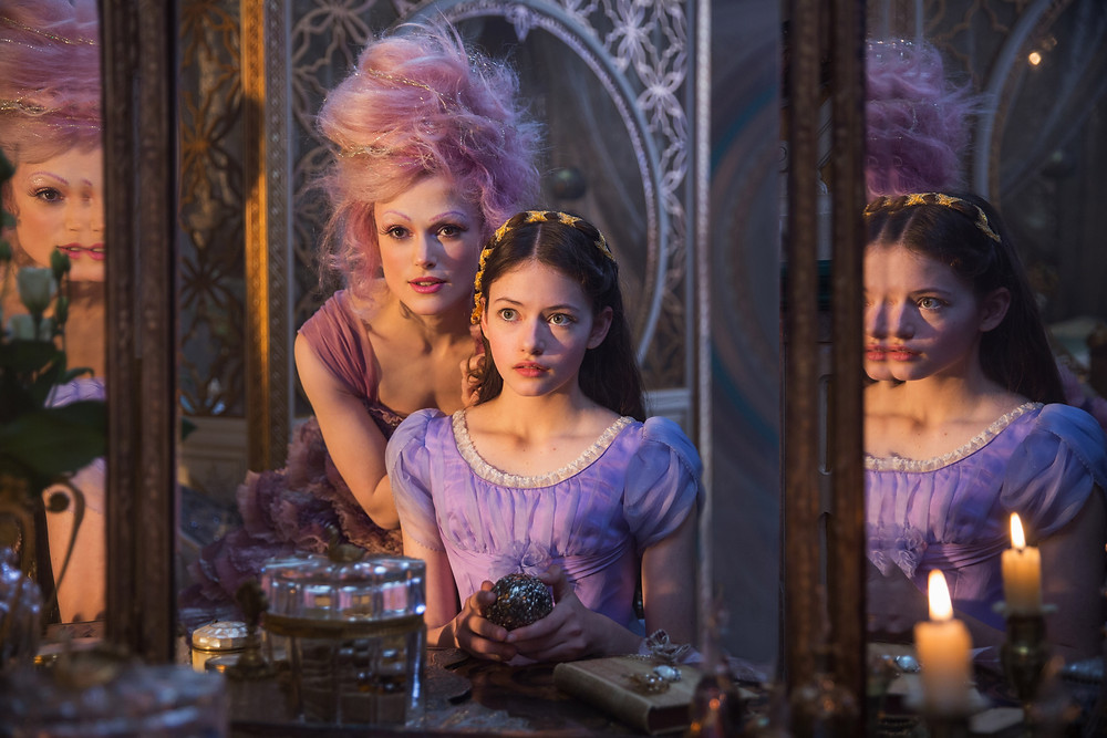 """Keira Knightly and Mackenzie Foy in Disney's """"The Nutcracker and the Four Realms"""""""