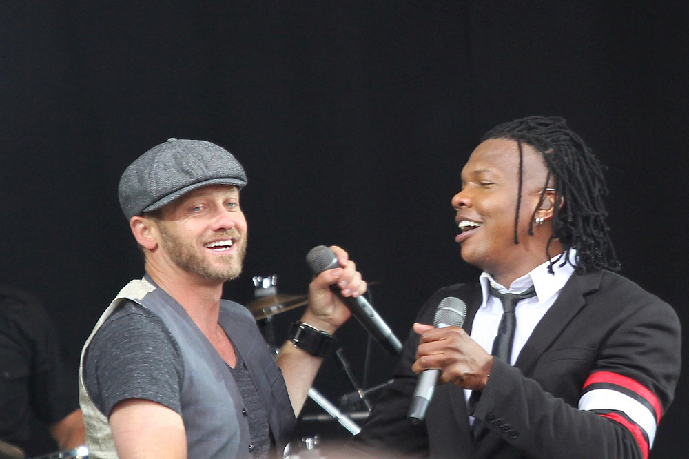 Michael Tait and TobyMac