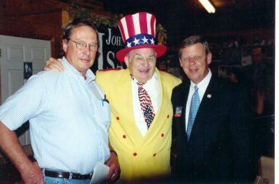 Col. Poole & Johnny Isakson