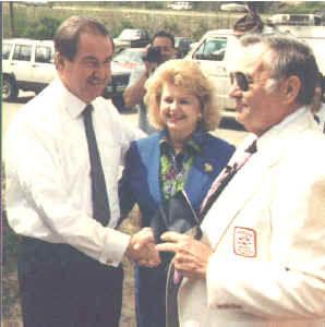 Col. Poole & Pat Buchanan