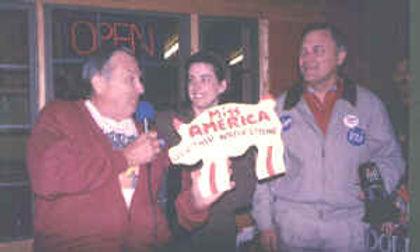 Col. Poole & Miss America Heather Whitestone