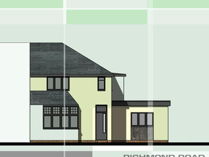House extension and re-model in Birmingham.