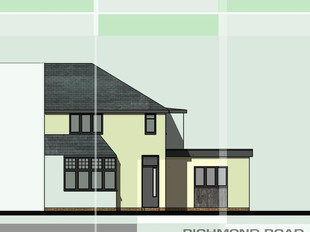 House re-model and extension in Birmingham.