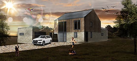Architectural Visualisation complted for nw residential develpment in Norfolk.