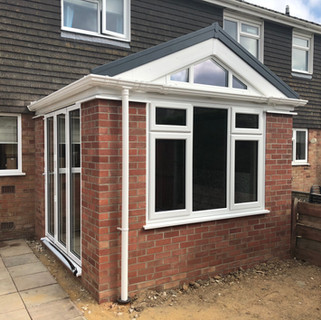 Home Extension Completed in Norfolk.