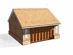 New garage application approved in Conservation Area.