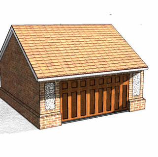 Garage approved in designated Conservation Area.
