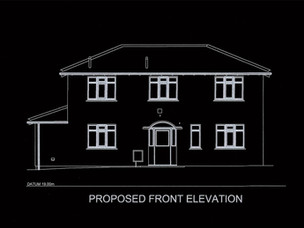 Residential Extension Approved in the Green Belt.