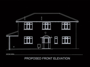 House Extension Approved in Bromsgrove.