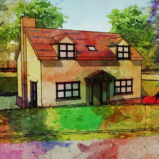 New Build Planning Application Approved in Hethersett, Norfolk.