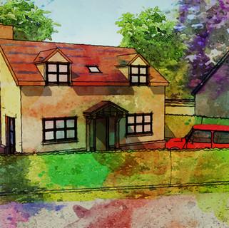 New House Apporved in Hethersett, Norfolk.