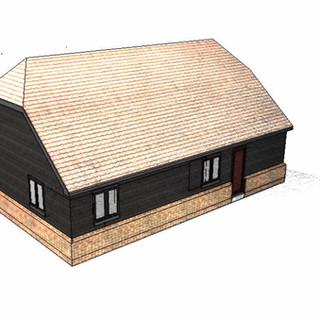 New Residnetial Unit Approved in Garvestone, Norfolk.