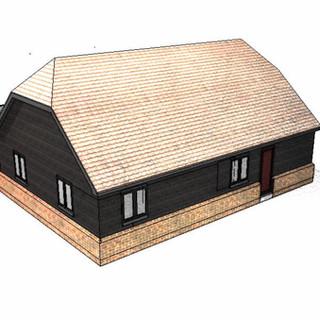 House Approved in Garvestone, Norfolk.