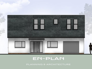 Bungalow re-model approved in Norfolk.