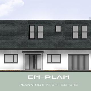 Bungalow re-model approved in Wymondham, Norfolk.
