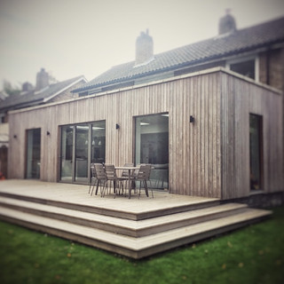 Modern House Extension Trowse, Norfolk.