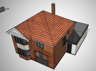 New House Extension Approved