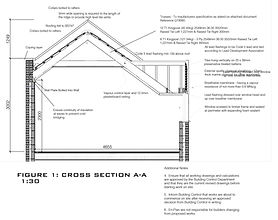 Buildig Regs Full Plans Application approve for his additonal storey and flat in Romford, Essex.