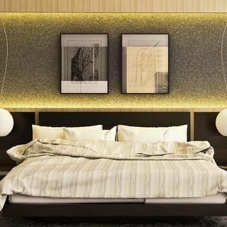 Interior Bedroom Render