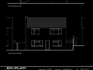 Residnetial extension application submitted in High Wycombe.