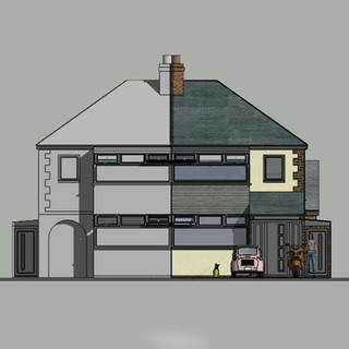 House re-model approved in Great Barr, Birmingham.