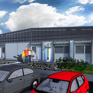 New plave of Worship approved in Telford, Shropshire.