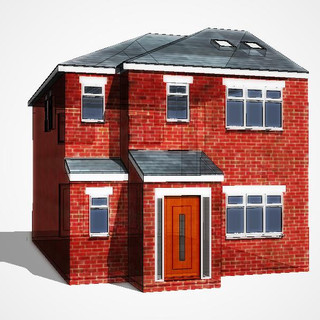 3-D Architetcural Visualisation of Approved Planning Application