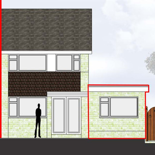 Side extension approved in Trench, Telford.