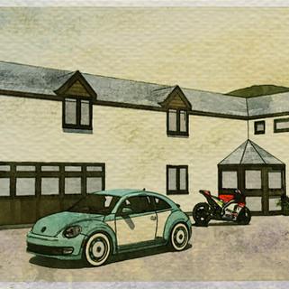 New House Extension in Port-y-Waen, Oswestry.